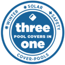 3-in-1 pool cover