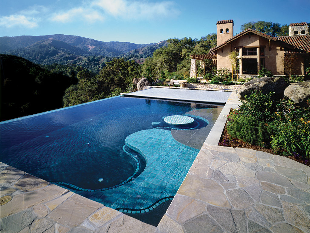 Cover any type of pool cover pools - Infinity edge swimming pool ...